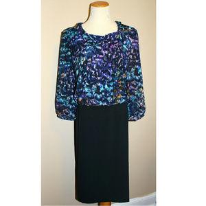 Jones New York Dress Woman Black 22W Plus